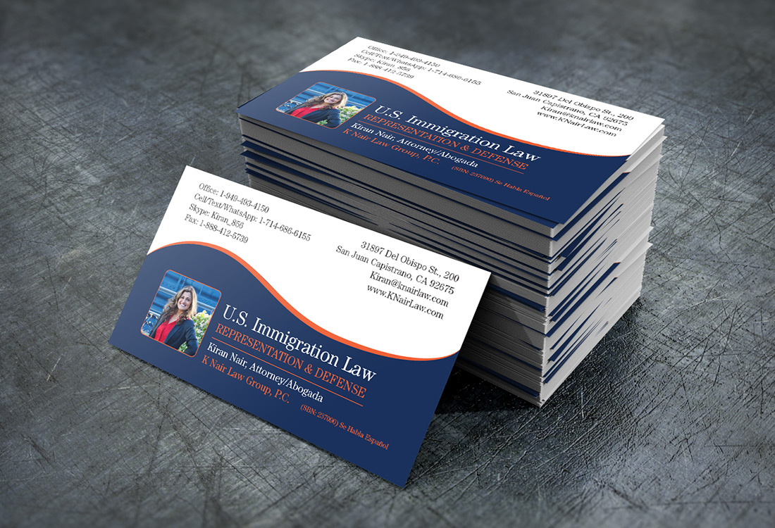 FRW-Portfolio-K-Nair-Business-Cards