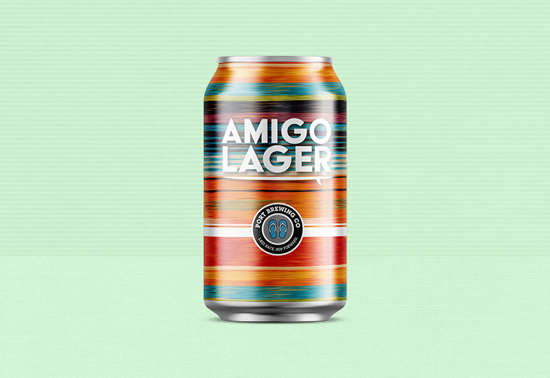 Amigo Lager Can Design