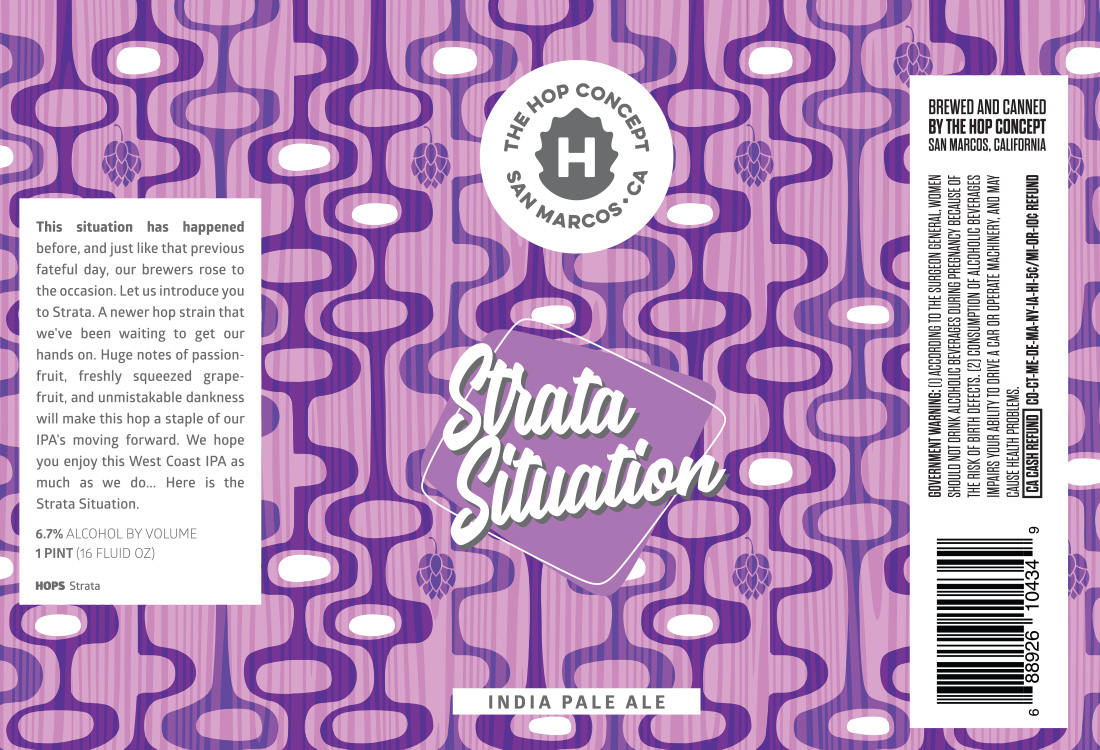 Hop Concept Strata Situation Can Design