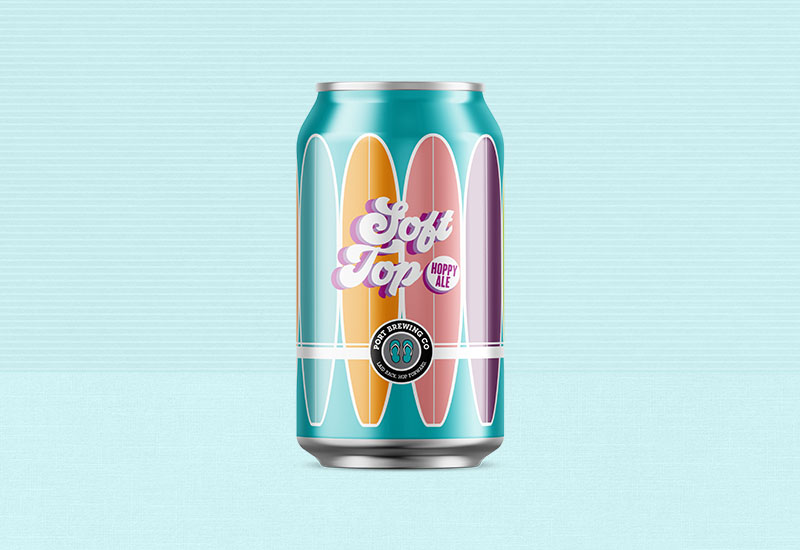Port Brewing Soft Top Can Design